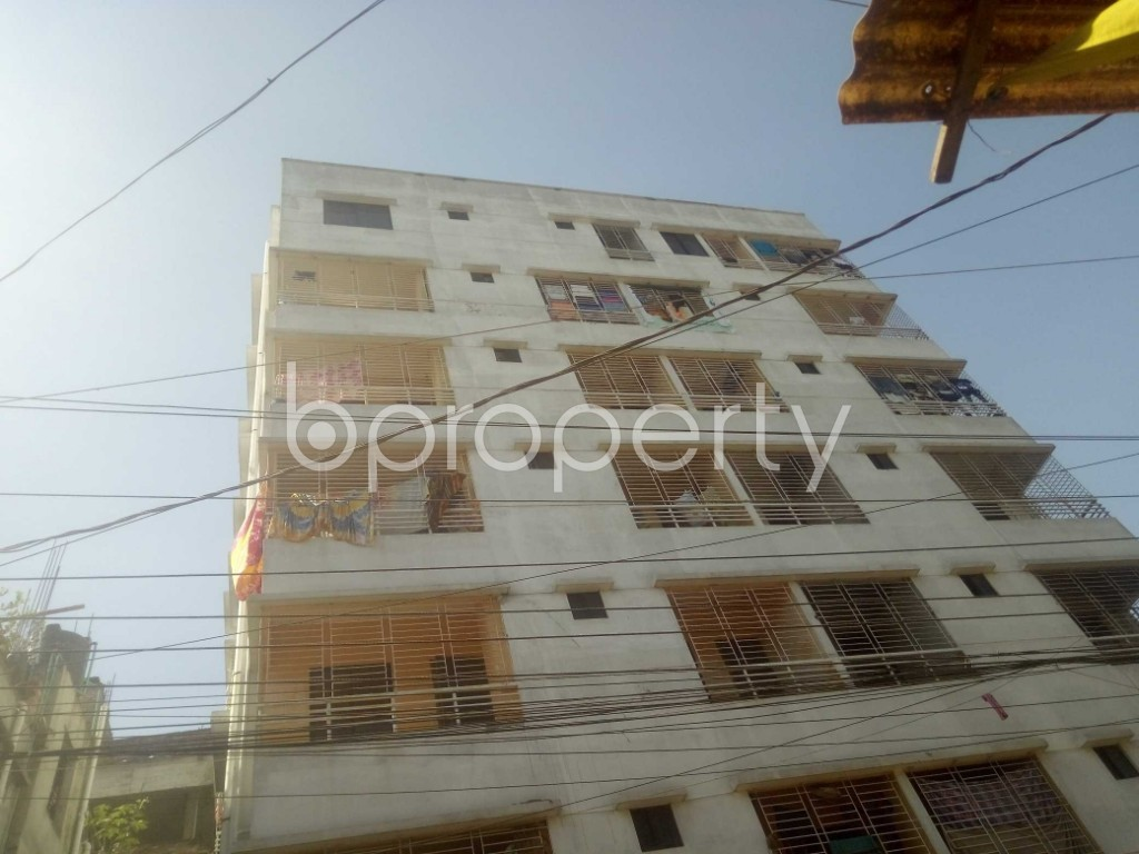 Outside view - 3 Bed Apartment to Rent in Badda, Dhaka - 1958589