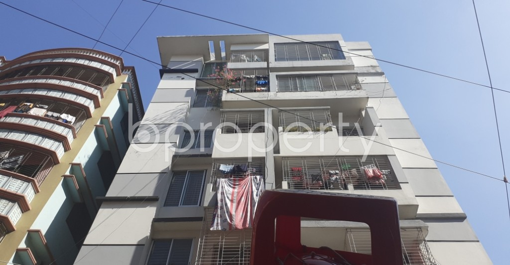 Front view - 3 Bed Apartment for Sale in Uttara, Dhaka - 1958598