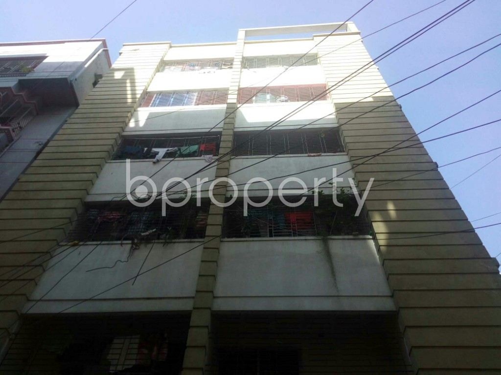 Front view - 1 Bed Apartment to Rent in Badda, Dhaka - 1958608