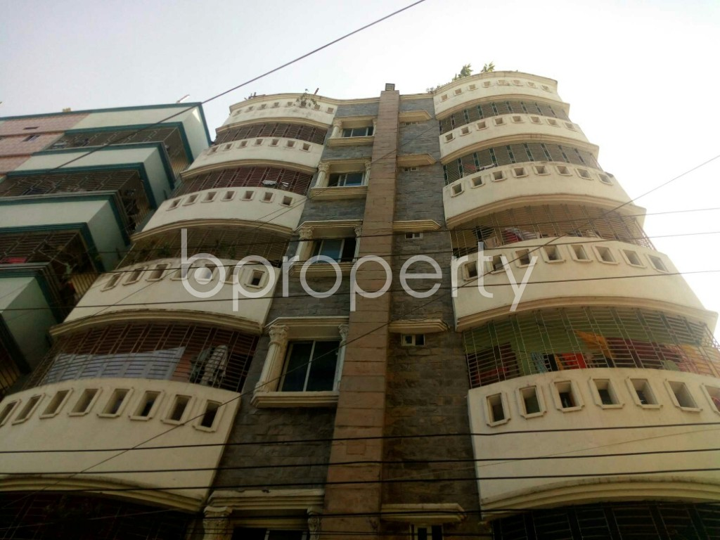 Front view - 2 Bed Apartment to Rent in Badda, Dhaka - 1958620