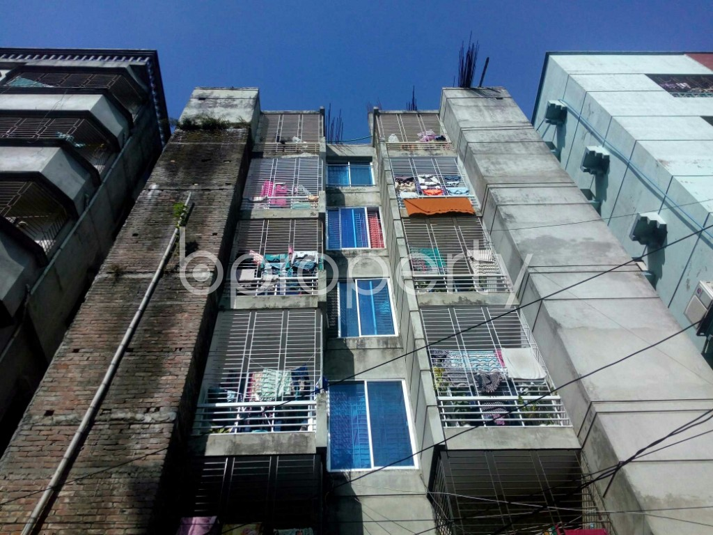 Front view - 1 Bed Apartment to Rent in Badda, Dhaka - 1958654