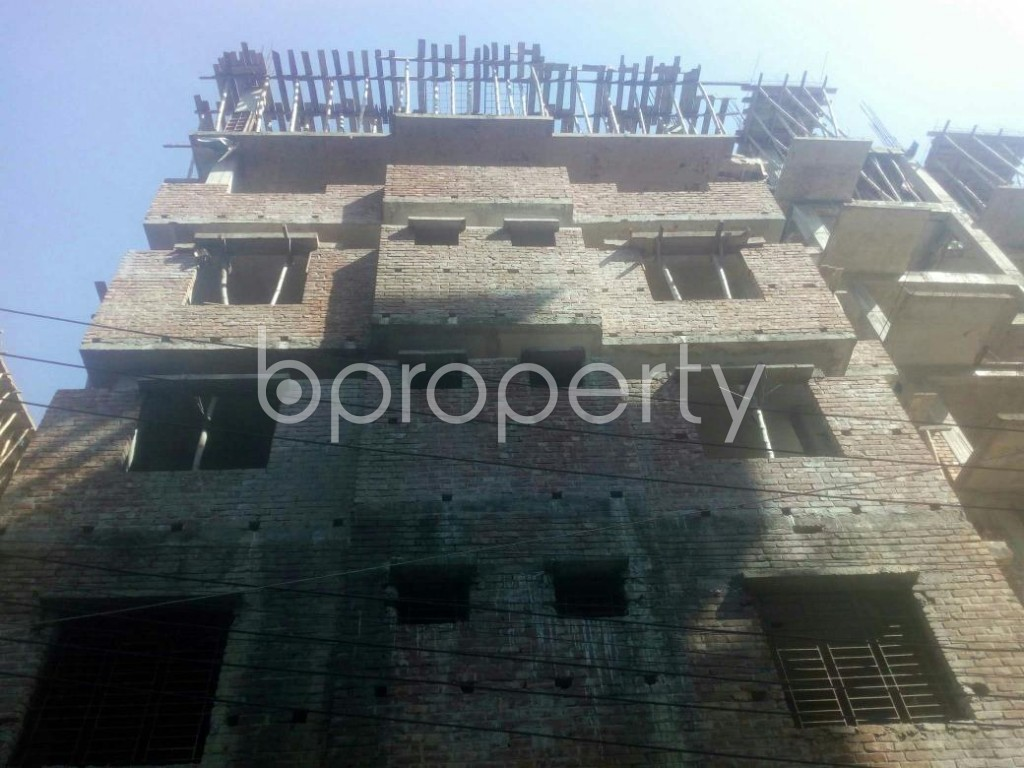 Front view - 2 Bed Apartment for Sale in Banasree, Dhaka - 1958669