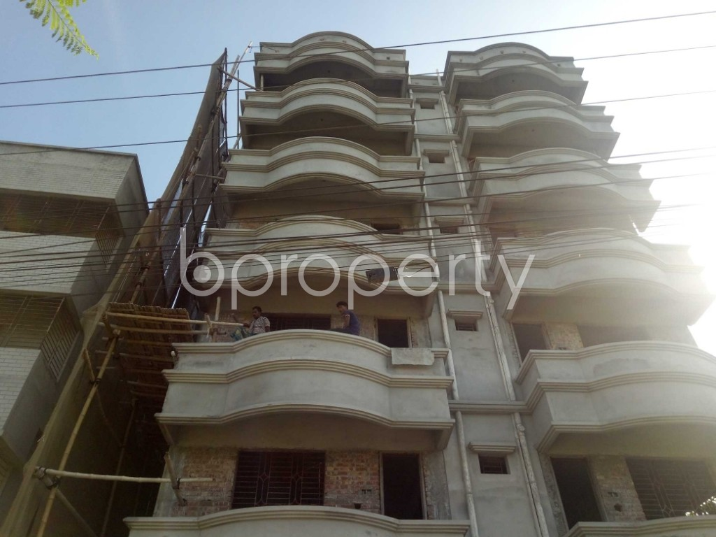Front view - 2 Bed Apartment to Rent in Badda, Dhaka - 1958756