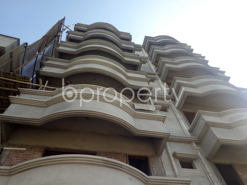 Front view - 2 Bed Apartment to Rent in Badda, Dhaka - 1958758