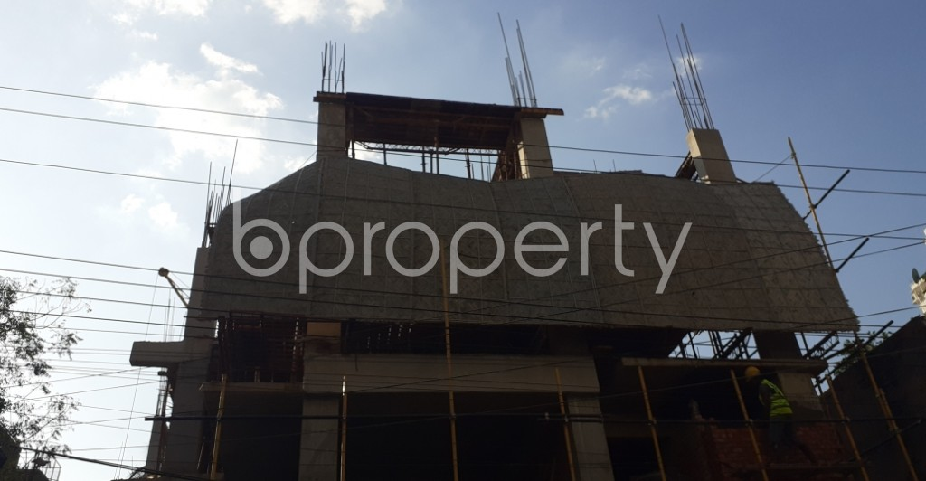 Front view - 3 Bed Apartment for Sale in Uttara, Dhaka - 1958817