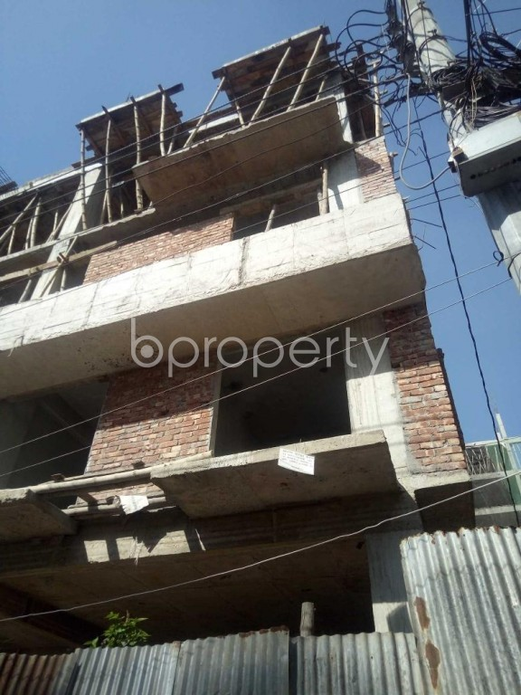 Front view - 3 Bed Apartment to Rent in Badda, Dhaka - 1958978