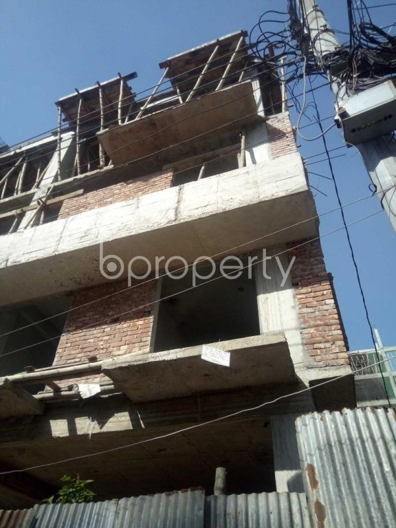 Front view - 3 Bed Apartment to Rent in Badda, Dhaka - 1958982