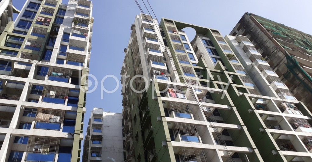 Outside view - 3 Bed Apartment to Rent in Kathalbagan, Dhaka - 1959190