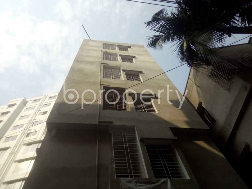 Front view - 2 Bed Apartment to Rent in Badda, Dhaka - 1959338