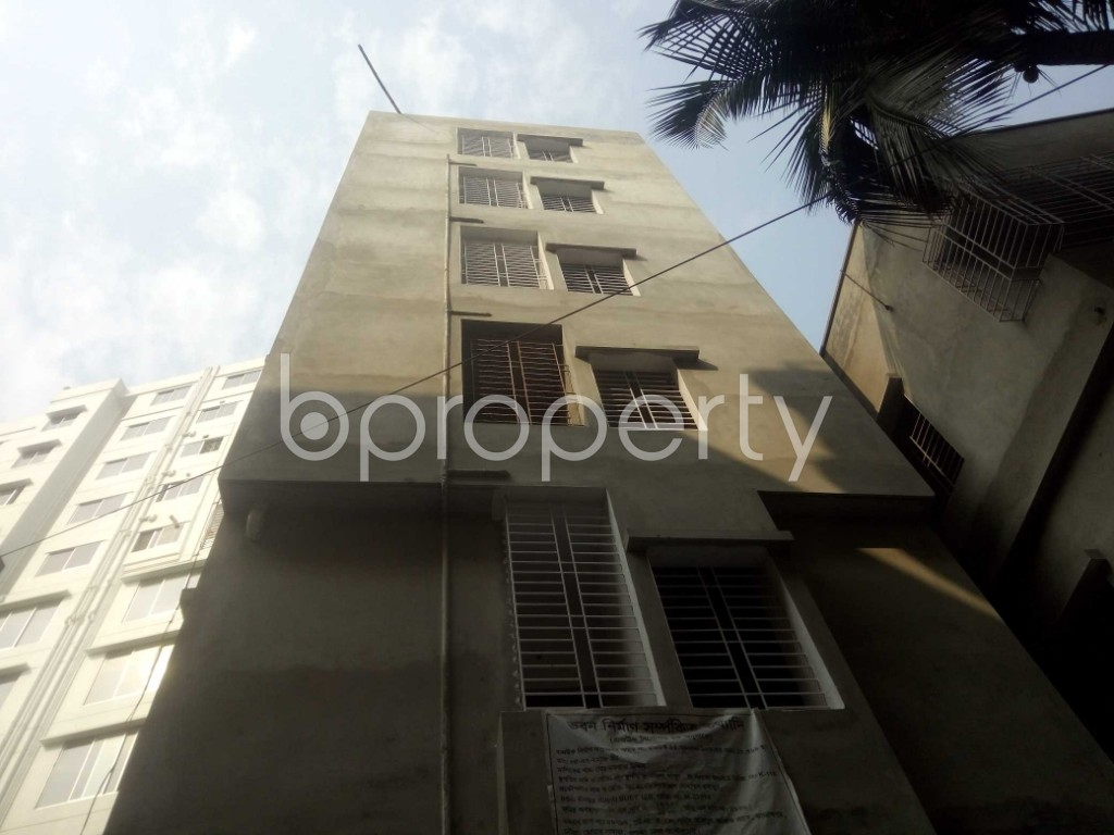 Front view - 2 Bed Apartment to Rent in Badda, Dhaka - 1959340