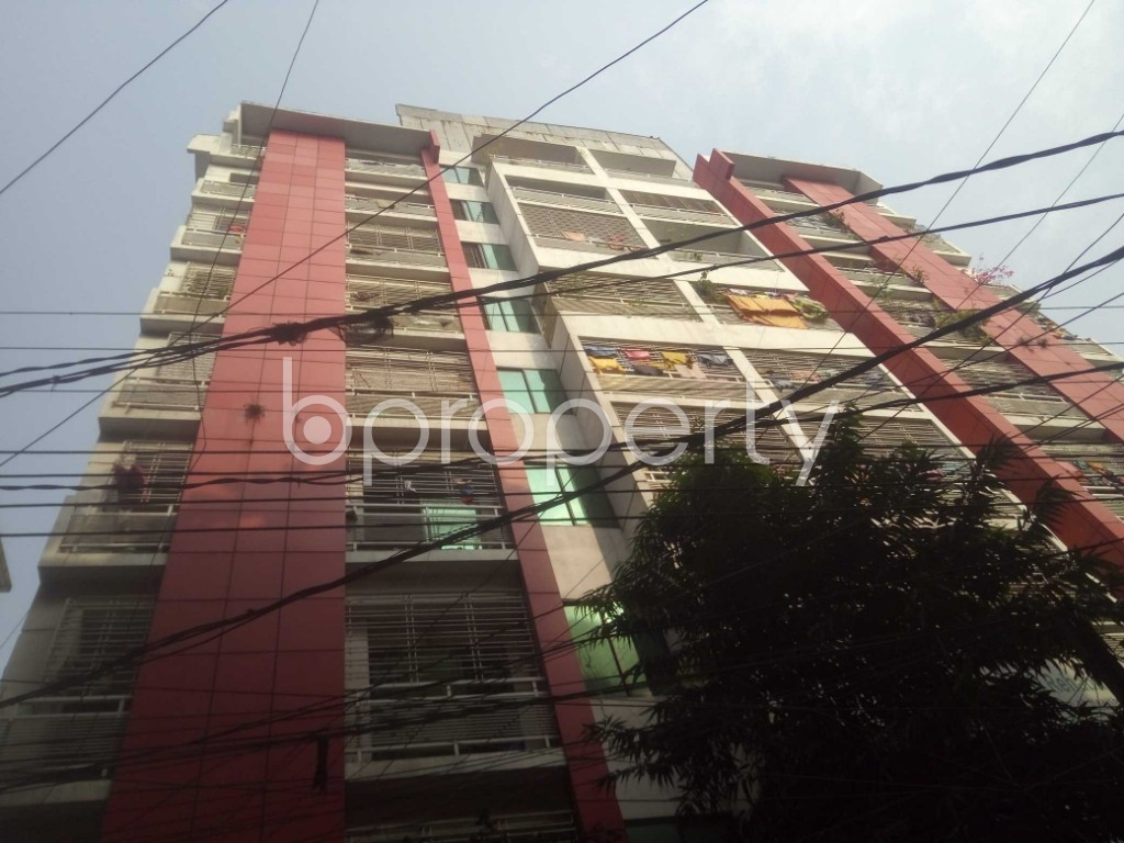 Front view - 3 Bed Apartment to Rent in Badda, Dhaka - 1959348
