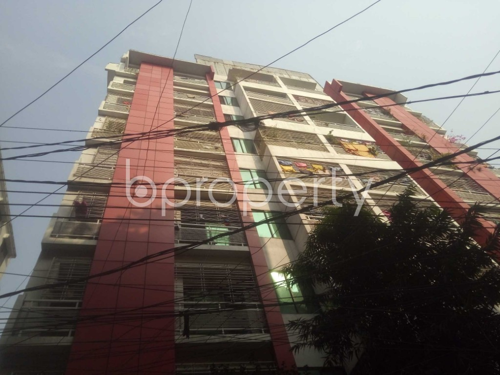 Outside view - 3 Bed Apartment to Rent in Badda, Dhaka - 1959349