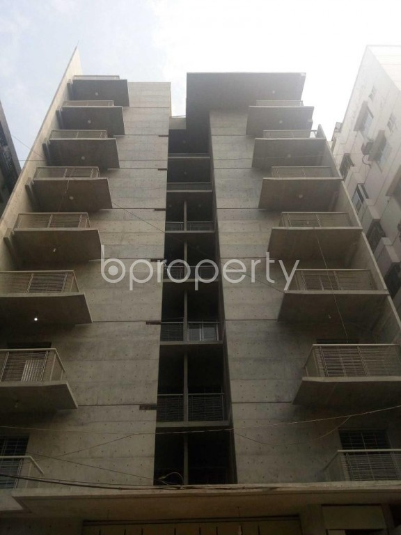 Front view - 3 Bed Apartment for Sale in Uttara, Dhaka - 1959530