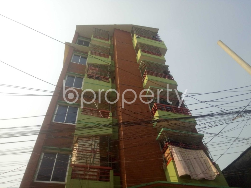 Outside view - 2 Bed Apartment to Rent in Badda, Dhaka - 1959546