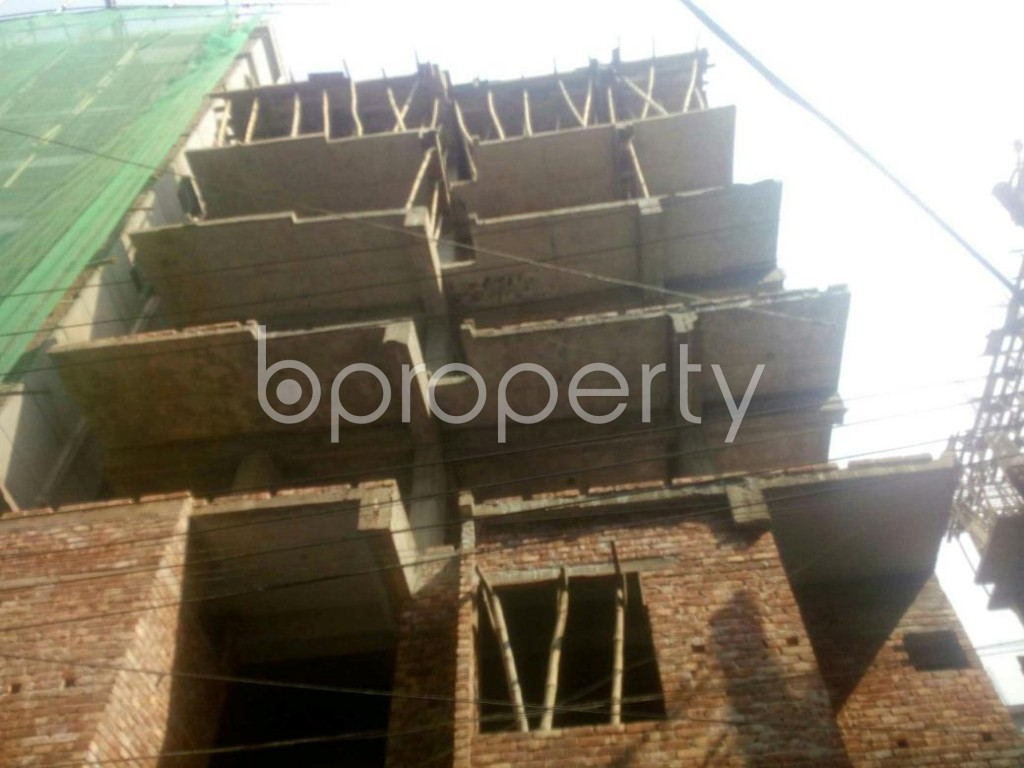 Front view - 3 Bed Apartment for Sale in Banasree, Dhaka - 1959568