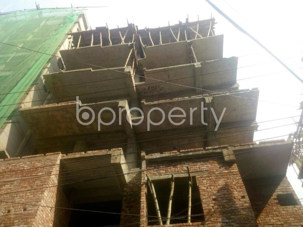 Front view - 3 Bed Apartment for Sale in Banasree, Dhaka - 1959571