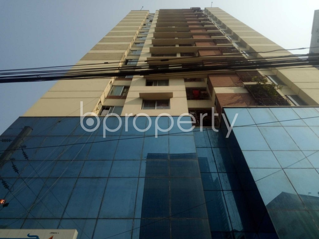 Front view - 2 Bed Apartment to Rent in Badda, Dhaka - 1959615