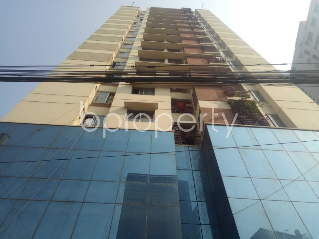 Front view - 3 Bed Apartment to Rent in Badda, Dhaka - 1959616