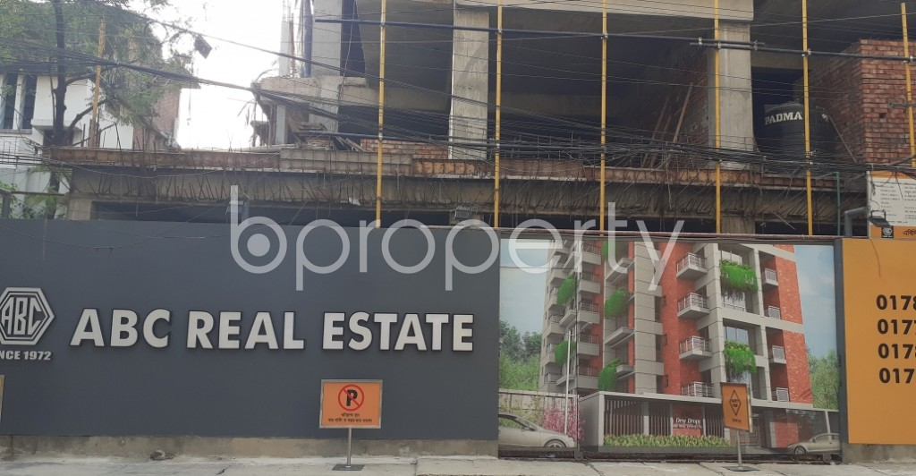 Front view - 3 Bed Apartment for Sale in Uttara, Dhaka - 1959671