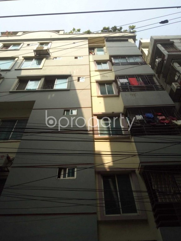 Front view - 2 Bed Apartment to Rent in Badda, Dhaka - 1959796