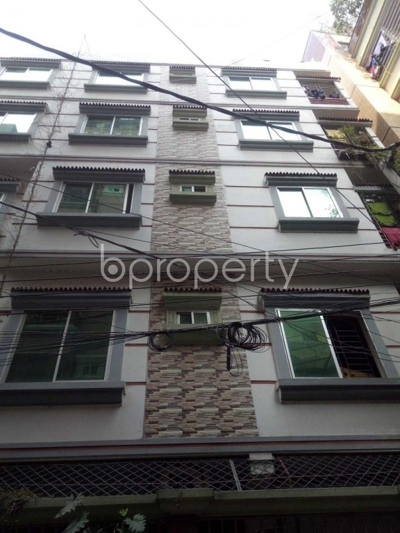 Front view - 2 Bed Apartment to Rent in Badda, Dhaka - 1959802