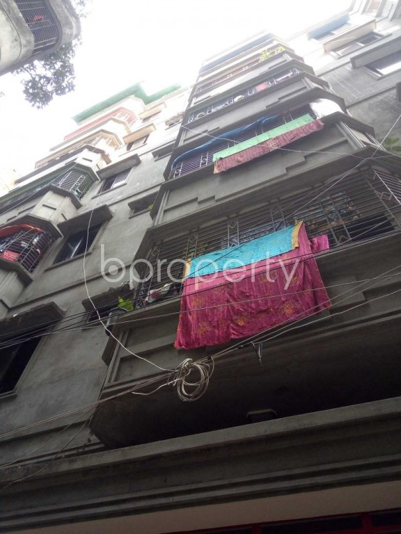 Front view - 3 Bed Apartment to Rent in Badda, Dhaka - 1959813