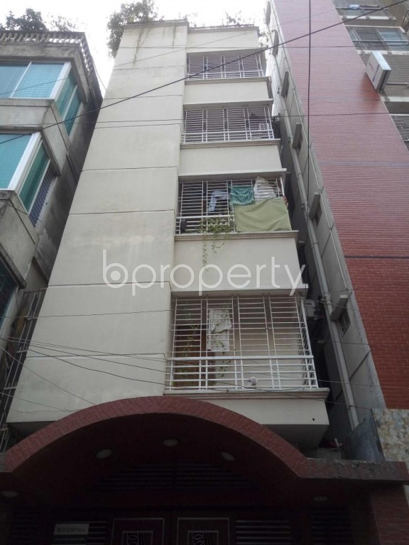 Front view - 1 Bed Apartment to Rent in Badda, Dhaka - 1959820