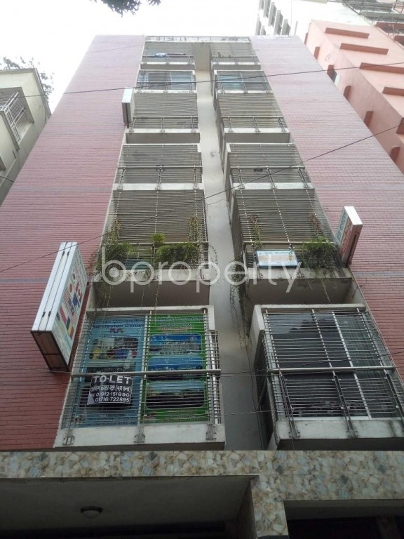 Front view - 2 Bed Apartment to Rent in Badda, Dhaka - 1959825