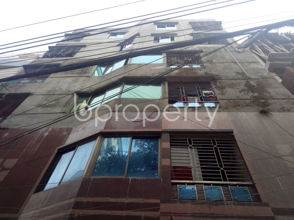 Front view - 2 Bed Apartment to Rent in Badda, Dhaka - 1959826