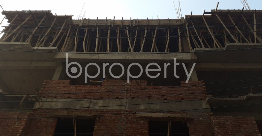 Front view - 4 Bed Apartment for Sale in Banasree, Dhaka - 1959988