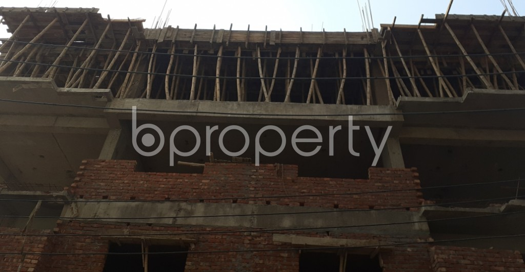 Front view - 4 Bed Apartment for Sale in Banasree, Dhaka - 1959989
