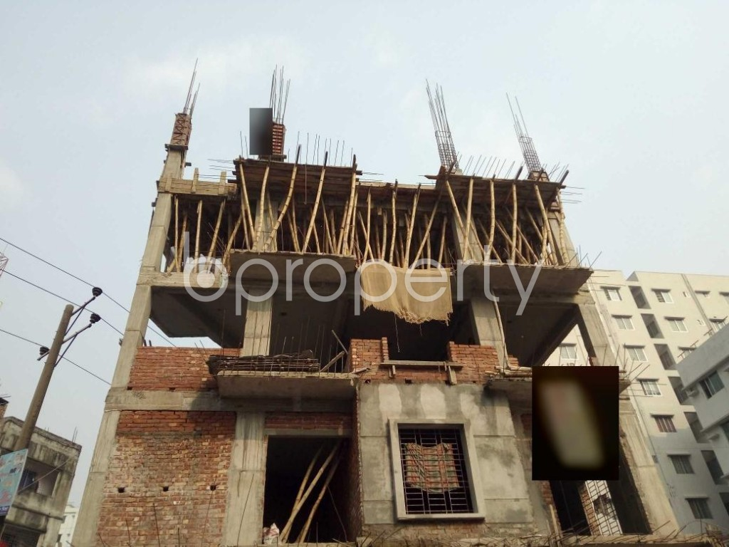 Front view - 3 Bed Apartment for Sale in Bashundhara R-A, Dhaka - 1960094