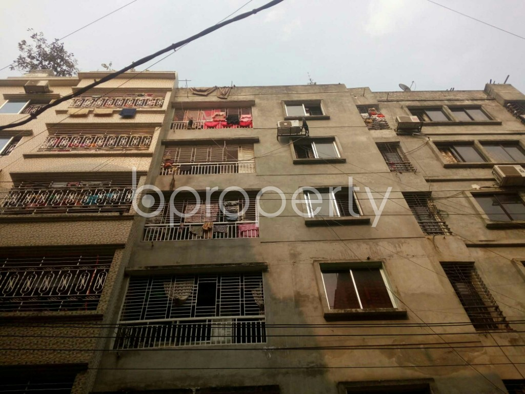 Front view - 2 Bed Apartment for Sale in Mirpur, Dhaka - 1960455