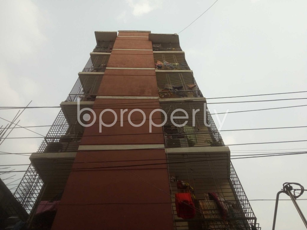 Front view - 3 Bed Apartment for Sale in Mirpur, Dhaka - 1960583