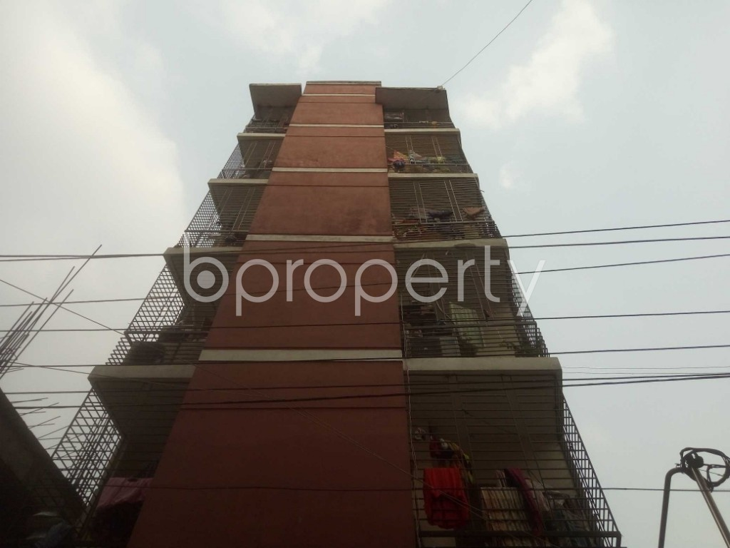 Front view - 3 Bed Apartment for Sale in Mirpur, Dhaka - 1960585
