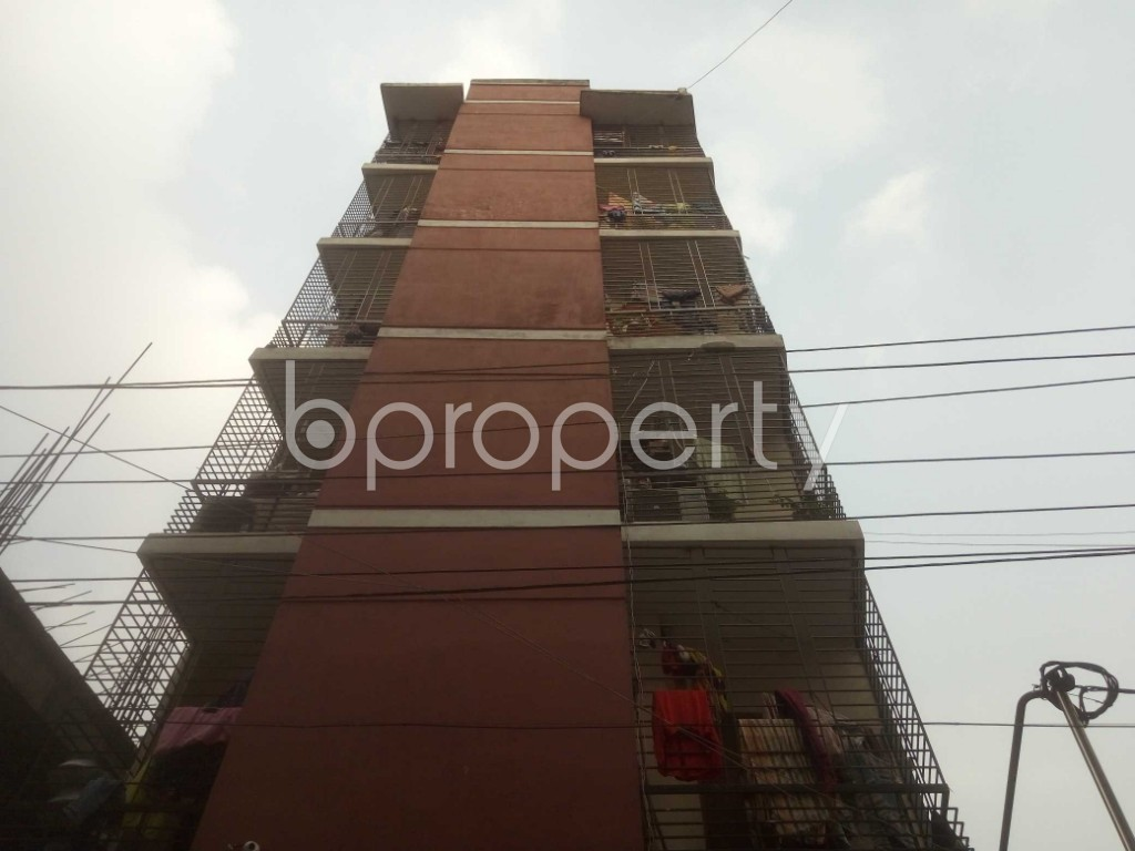 Front view - 3 Bed Apartment for Sale in Mirpur, Dhaka - 1960588