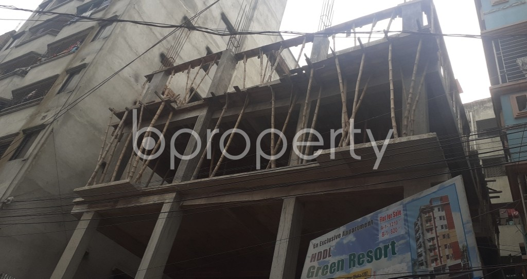 Front view - 3 Bed Apartment for Sale in Mohammadpur, Dhaka - 1960683