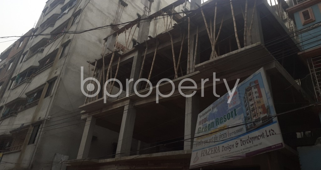Front view - 2 Bed Apartment for Sale in Mohammadpur, Dhaka - 1960684