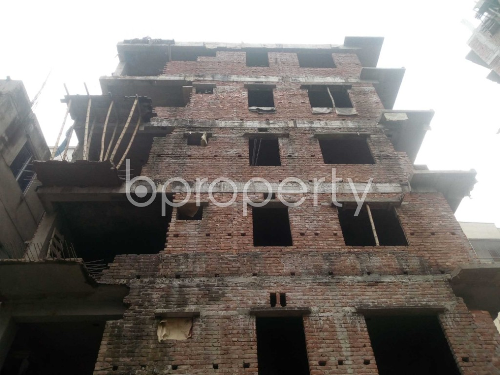 Front view - 3 Bed Apartment for Sale in Banasree, Dhaka - 1960723