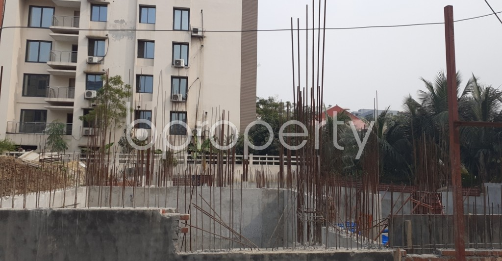 Front view - 3 Bed Apartment for Sale in Bashundhara R-A, Dhaka - 1960777