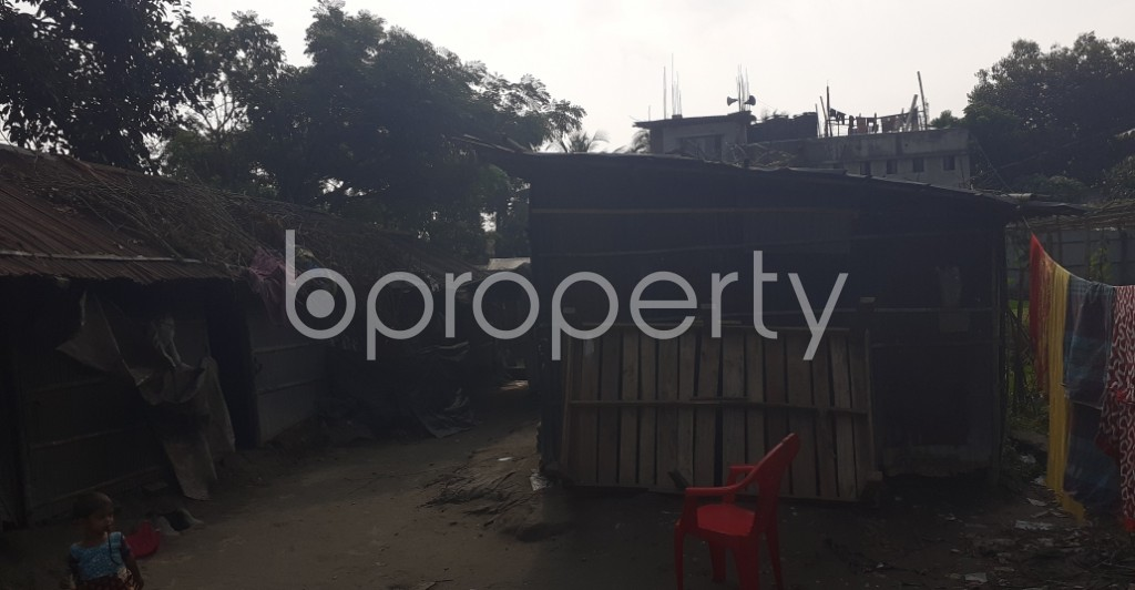 Front view - Plot for Sale in 9 No. North Pahartali Ward, Chattogram - 1960906