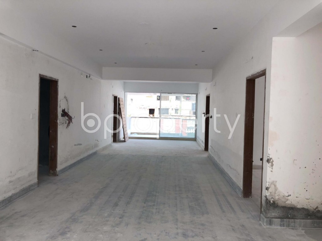 Dining area - 4 Bed Apartment to Rent in Mohakhali DOHS, Dhaka - 1958128