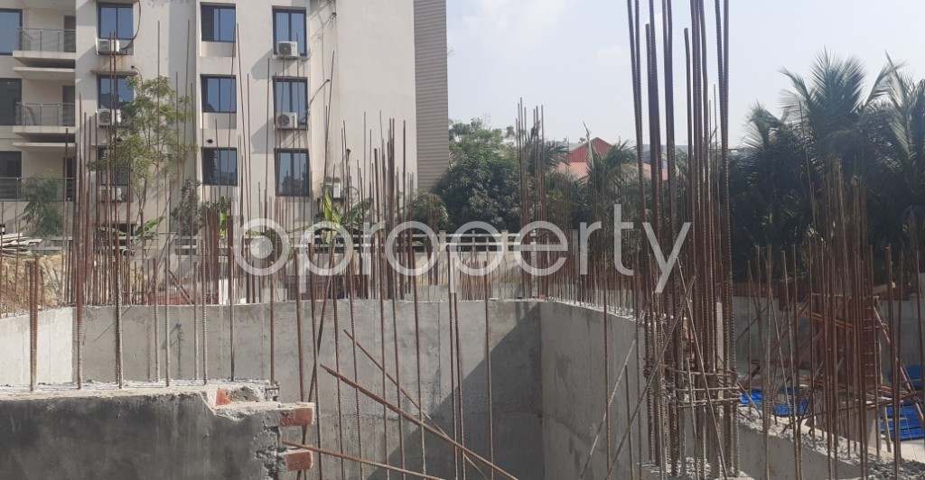 Front view - 3 Bed Apartment for Sale in Bashundhara R-A, Dhaka - 1961424