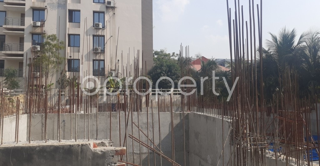 Front view - 3 Bed Apartment for Sale in Bashundhara R-A, Dhaka - 1961426