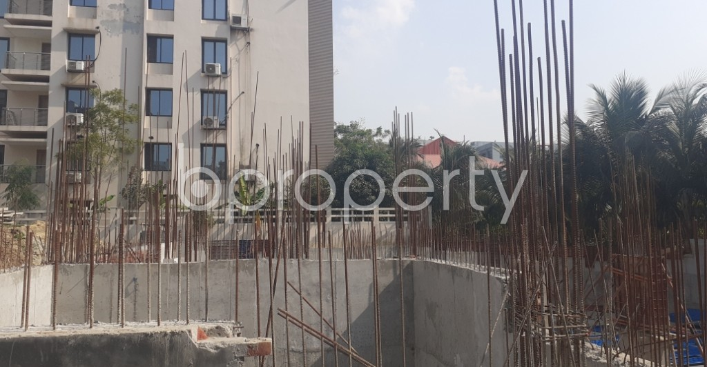 Front view - 3 Bed Apartment for Sale in Bashundhara R-A, Dhaka - 1961427