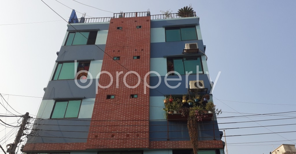 Front view - 1 Bed Apartment to Rent in 10 No. North Kattali Ward, Chattogram - 1961438