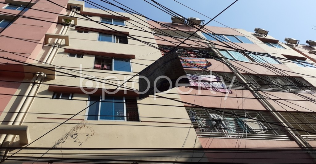 Outside view - 3 Bed Apartment to Rent in Kathalbagan, Dhaka - 1961535