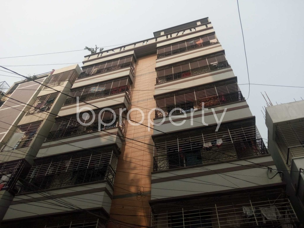 Outside view - 2 Bed Apartment to Rent in Nikunja, Dhaka - 1962719