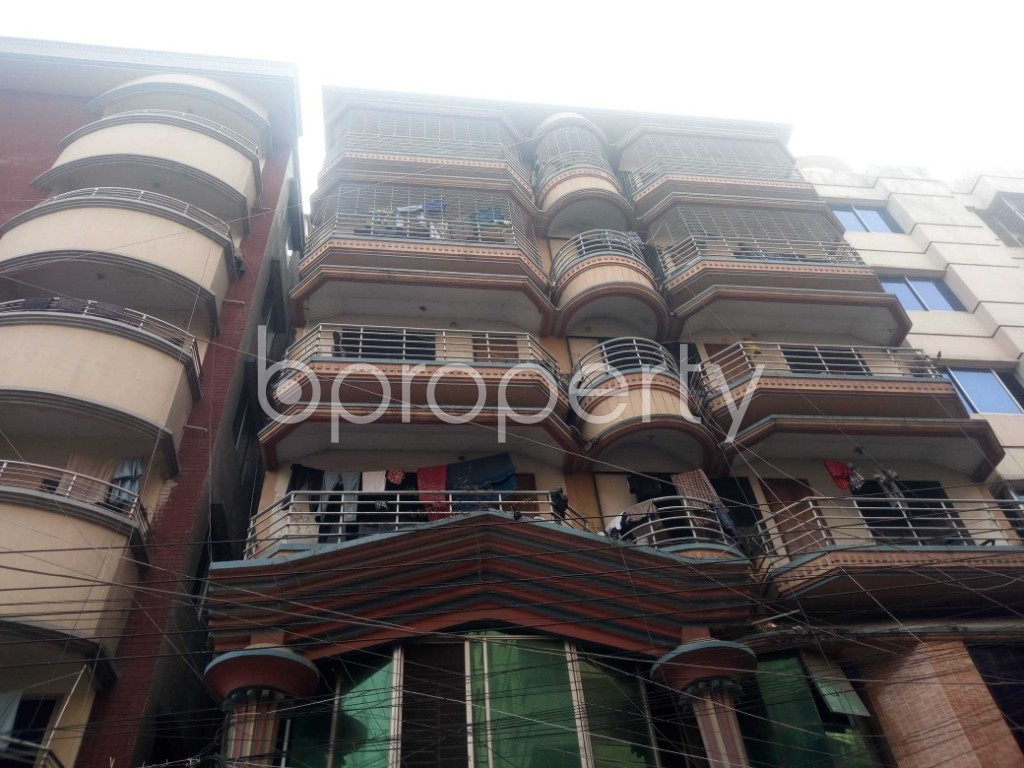 Outside view - 3 Bed Apartment to Rent in Nikunja, Dhaka - 1962723