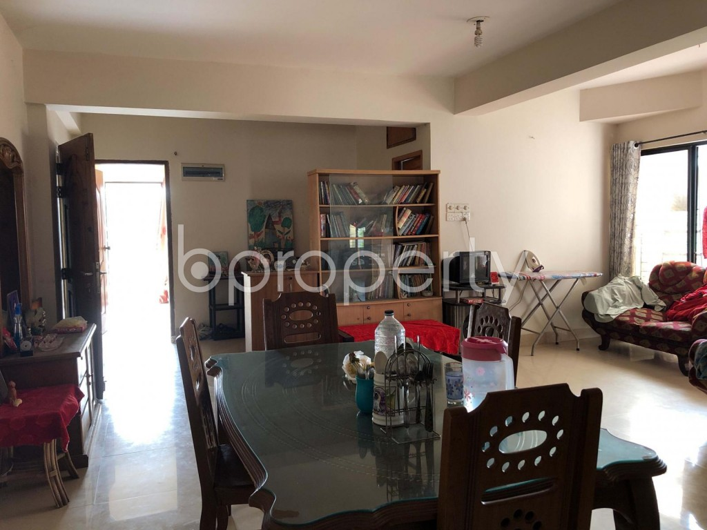 Dining area - 4 Bed Apartment for Sale in Uttara, Dhaka - 1956887